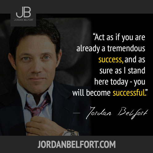 Jordan Belfort The Wolf of Wallstreet
